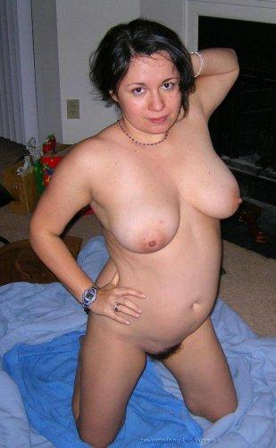 Hausfrau mit geilen Titten
